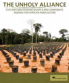 Five Western Donors Shape a Corporate Agenda for African Agriculture