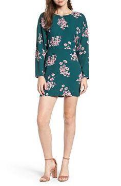 3e84f05aabef LEITH Designer Floral Minidress Fall Dresses