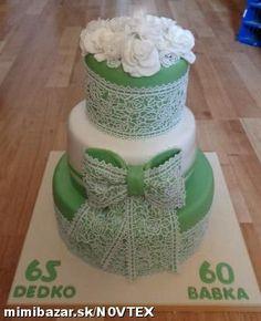 Čipkovaná torta