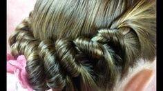 Spiral Braid Ponytail, Twist Hairstyles, via YouTube.