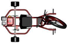 Hot Rod Red Drift Trike