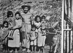 Cienaguero y su familia