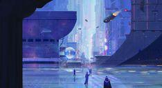 ArtStation - Scfi world concept, Marcus Oriente