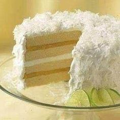 COCONUT CAKE WITH LIME CURD FILLING  WILLIAMS-SONOMA
