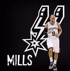 Spurs Patty Mills AKA Patty THRILLS! #GSG