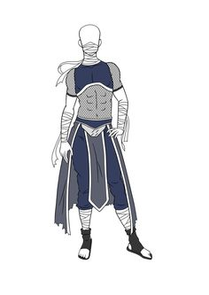 Adoptables: Male Kiri Outfit CLOSED by HardyDytonia