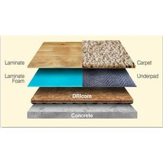 DRIcore - 2 Ft. x 2 Ft. DRIcore Engineered Subfloor Panel System - ODRICORE000000 - Home Depot Canada