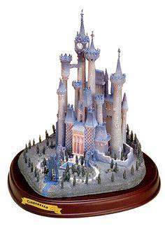 Cinderella-Cinderella's Castle (1997 Open Edition) WDCC