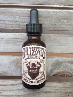 Grizzly Brand Beard Tonic / Beard Oil / Beard Conditioner