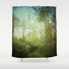 Follow Your Life Path Shower Curtain by Olivia Joy StClaire - $68.00
