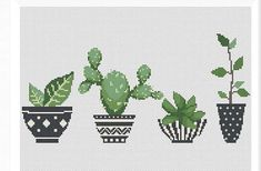 Bargello, Cactus, Cross Stitching, Cross Stitch Patterns, Embroidery, Sewing, Fabric, Crossstitch, Diy