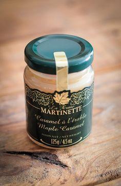 Caramel à l'érable de la Ferme Martinette