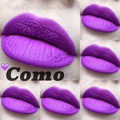 Stila Como Stay All-Day Liquid Lipstick Summer Lipstick, Liquid Lipstick Set, Purple Lipstick, Stila Cosmetics, Lip Tar, Lip Service, Make Me Up, Lip Makeup, Makeup Looks