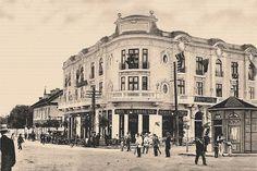Constanta - HOTEL GRAND - interbelica Constanta Romania, Old Town, Art Nouveau, Street View, Memories, Cousins, Old City, Memoirs, Souvenirs
