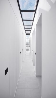I used to say I'd never build a hallway. Ok, I guess a hallway wouldn't be so bad as long as it has a a skylight.