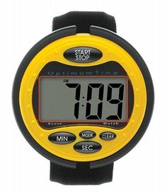Optimum Time Ultimate Event Watch - For accurate cross country times - Large clear LCD display screen, compact & comfortable with alarm feature. An easy to use eventing watch with large clear LCD display screen. Bold digits in a compact and comfortable design. Counts up and down. Has alarm feature.