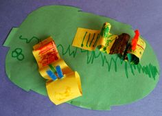 Plain Graces: Crawling Caterpillar Craft