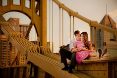 Lauren and Chris Engagement Session Photo By ann louise photography