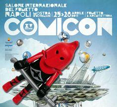 Comicon 2013, Salone internazionale del fumetto a Napoli