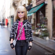 Nestled between the Right and Left Bank is the adorabe Île Saint-Louis, perfect for a picturesque Parisian stroll.  #barbie #barbiestyle