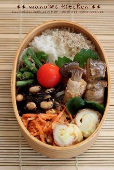 Flesh wound & chikuwa ♪ salad of king oyster mushroom: ** mana's Kitchen **