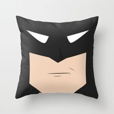 Batman Throw Pillow....perfect for Billy!