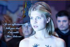 Fleur Delacour quote - harry-potter Fan Art