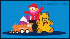 Toys design floor mat