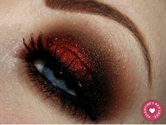 Valentine's Day eye make up