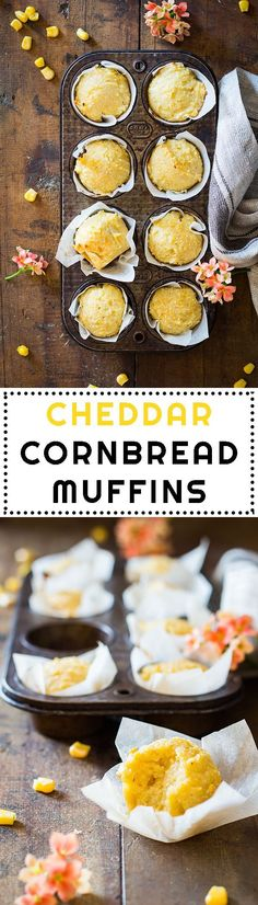 Do you ever wish there were more savory muffin recipes out there to enjoy? I've got the best Cheddar Cornbread Muffins recipe for you evaaaaa! Cheesy, corny, creamy, salty, moist…. YUM!
