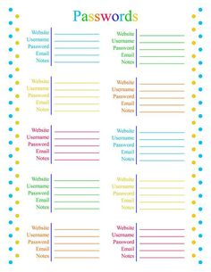 How a simple budget paid off Five Thousand Dollars of debt in six weeks Daily Planner Printable, Planner Pages, Work Planner, Lesson Planner, Weekly Meal Planner, Life Planner, Password Tracker, Password Manager, Password Ideas