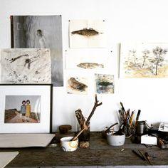 Last workshop in thé studio Laurent Dejente @ Casalil