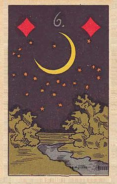 Lenormand Fortune Telling Oracle Cards Deck, published 1900