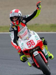 Marco Simoncelli 250cc world champion