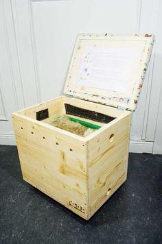 Berliner Kiste Wurmkiste kompostieren ohne garten so baust du eine wurmkiste schritt für