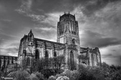 I just found what I think is my favorite #HDR image.  Liverpool Cathedral, UK.
