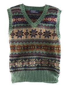 Fair Isle Sweater Vest - Infant Boys Sweaters - RalphLauren.com ...