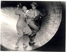 Photo of Harold Lloyd & co-star