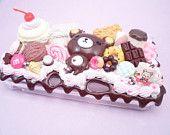 Kawaii Chocolate Cafe Kawaii Decoden Case for Nintendo 3ds XL