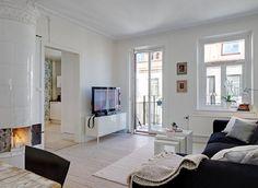 북유럽 예쁜집 인테리어 내집 연출 깨끗한 분위기의 실내 인테리어 디자인 쇼파 가구 탁자 거실