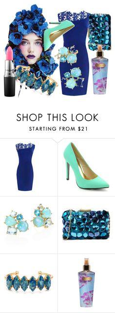fiori blu,e verde smeraldo! by dina-minichino on Polyvore featuring moda, Cape Robbin, Love Moschino, Ippolita, Elizabeth Cole, MAC Cosmetics and Victoria's Secret