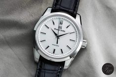 Grand Seiko Spring Drive 8-Day Power Reserve SBGD201 - The High-End Timepiece in BaselWorld That Impressed Me Most