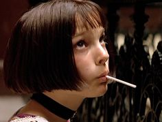 "Leon: The Professional ~ w/ young Natalie Portman ~""Is life always this hard, or is it just when you're a kid?""  ""Always like this."""