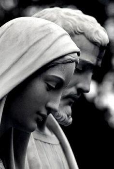 Our Lady and St. Catholic Art, Catholic Saints, Roman Catholic, Religious Art, Blessed Mother Mary, Blessed Virgin Mary, La Madone, Religion, Mama Mary
