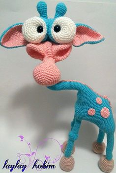 Ravelry: nlybbt's Giraffe Amigurumi crochet pattern by LittleOwlsHut