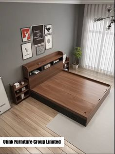 Wooden Bed Design, Bedroom Furniture Design, Furniture Design Living Room, Bed Furniture Design, Home Room Design, Bed Design Modern, Bedroom Closet Design, Bedroom Bed Design, Box Bed Design