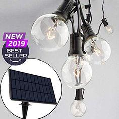 Solar Led String Lights, Outdoor Hanging Lights, Indoor Solar Lights, Umbrella Lights, Patio Lighting, Lighting Ideas, Costco, Indoor Outdoor, Walmart