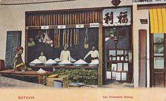 Tempo Doeloe #76 - Jakarta - Glodok, Warung Cina, 1908 | Flickr