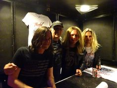 WE ARE HARLOT and myself(Flemming) from Melkweg,Amsterdam 2015