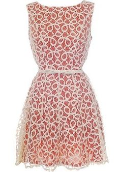 Coiled Lace Dress | Women's Dresses | RicketyRack.com